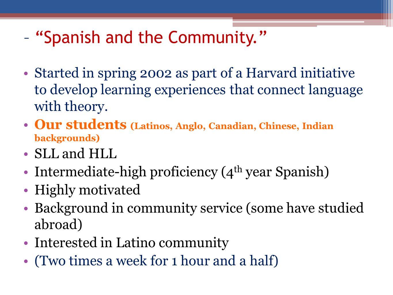 Las instalaciones deben representar aquello que has aprendido de ti mismo, a través de lo que hemos estudiado sobre los Latinos en los Estados Unidos.