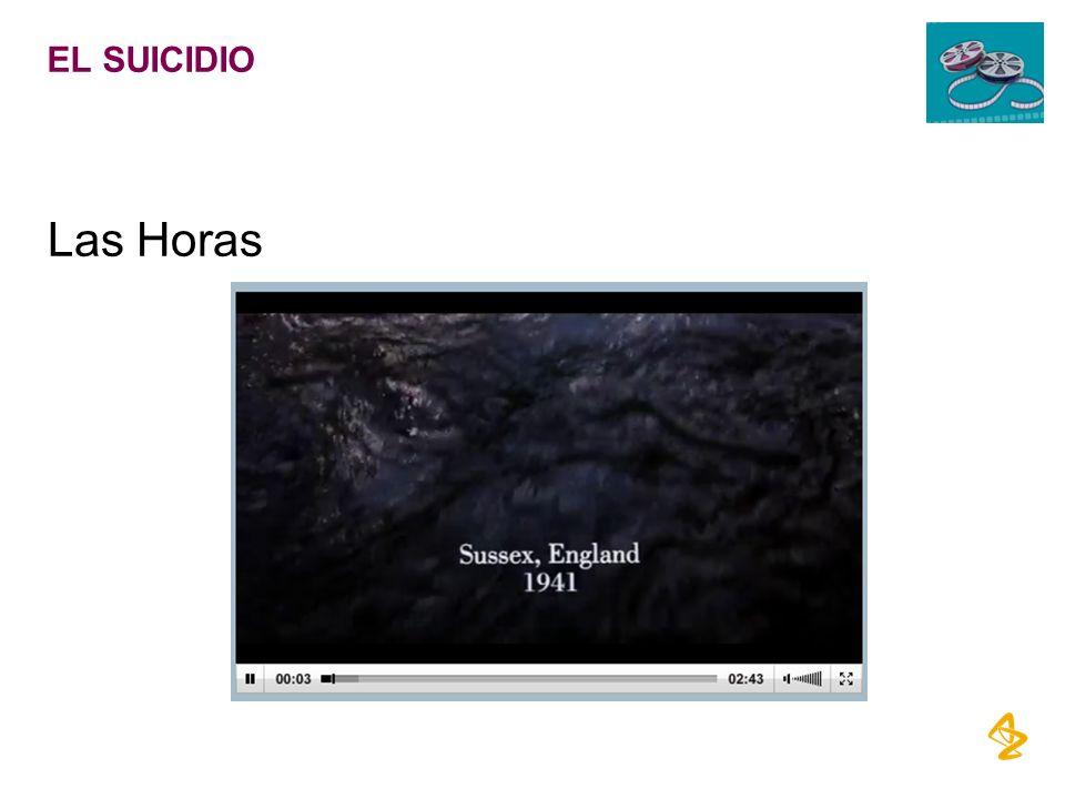 EL SUICIDIO Las Horas