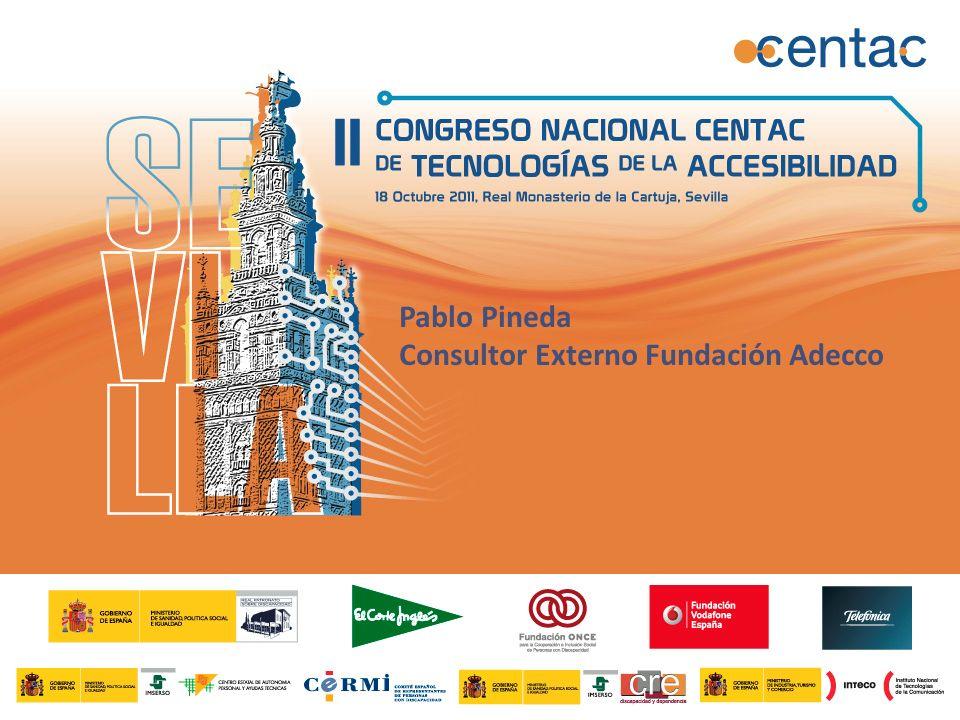 Pablo Pineda Consultor Externo Fundación Adecco