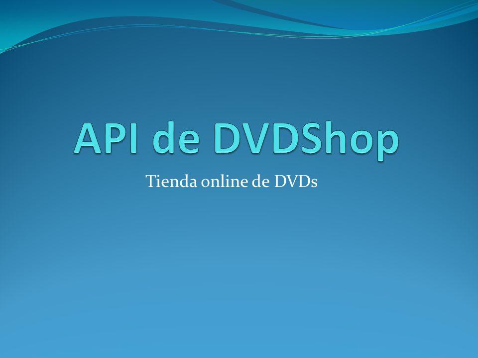 Tienda online de DVDs
