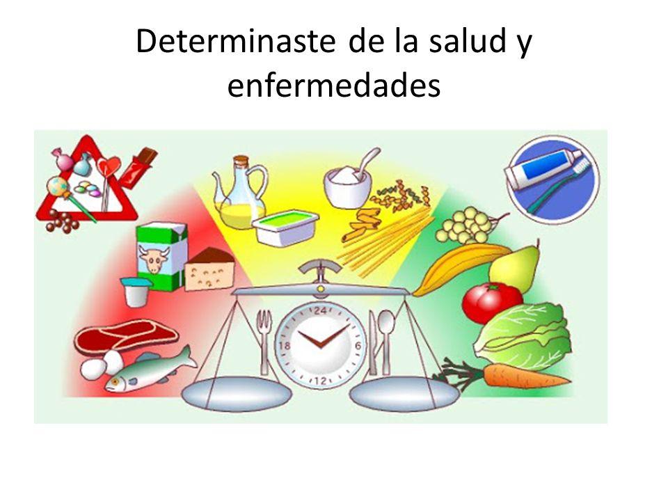 Determinaste de la salud y enfermedades