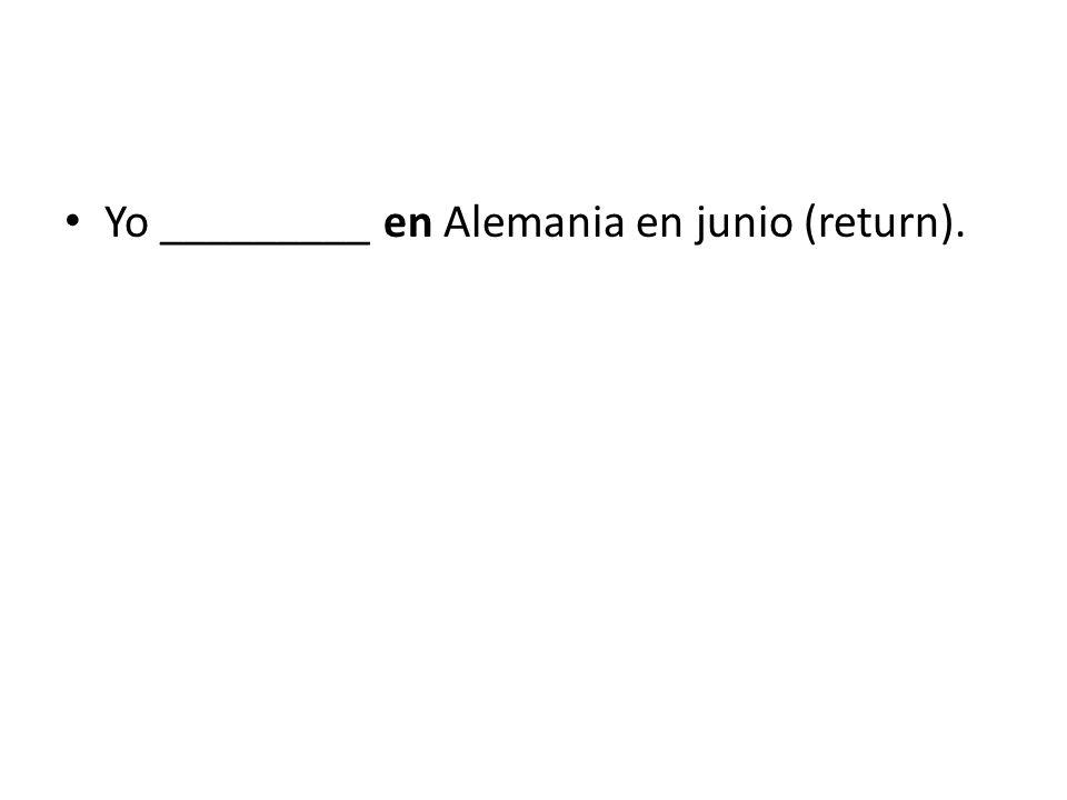 22. Yo ________ la historia, pero no me la gusta (to study).