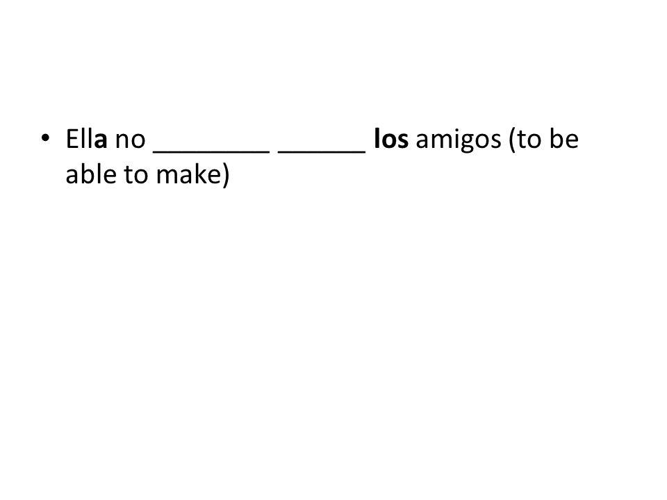 24. Yo ______ las poemas (to write).