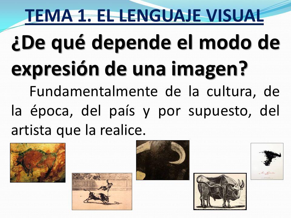 TEMA 1. EL LENGUAJE VISUAL Clasificación de los niveles de representación: Realistas: Son las que tienen el mayor parecido con la realidad. Figurativa