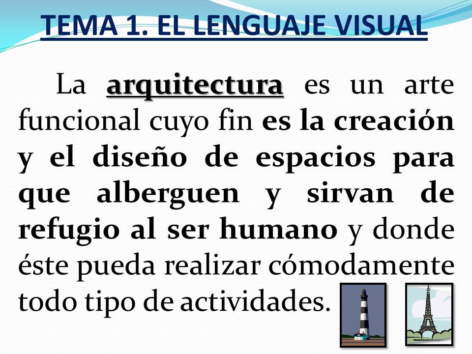 TEMA 1. EL LENGUAJE VISUAL Aspectos técnicos tales como: Soporte (cartón, tela, muro,...). Materiales (madera, piedra, metal,...). Técnica (témpera, a