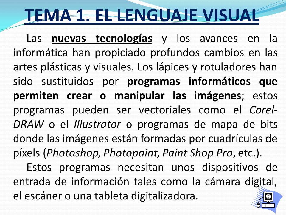 TEMA 1. EL LENGUAJE VISUAL Las fases del proyecto de diseño son las siguientes: 1º.- Detectar las necesidades y preferencias de los consumidores. 2º.-