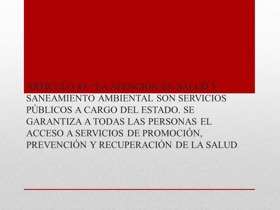 LEY 100 DE 1993 ARTÍCULO 1.SISTEMA DE SEGURIDAD SOCIAL INTEGRAL.