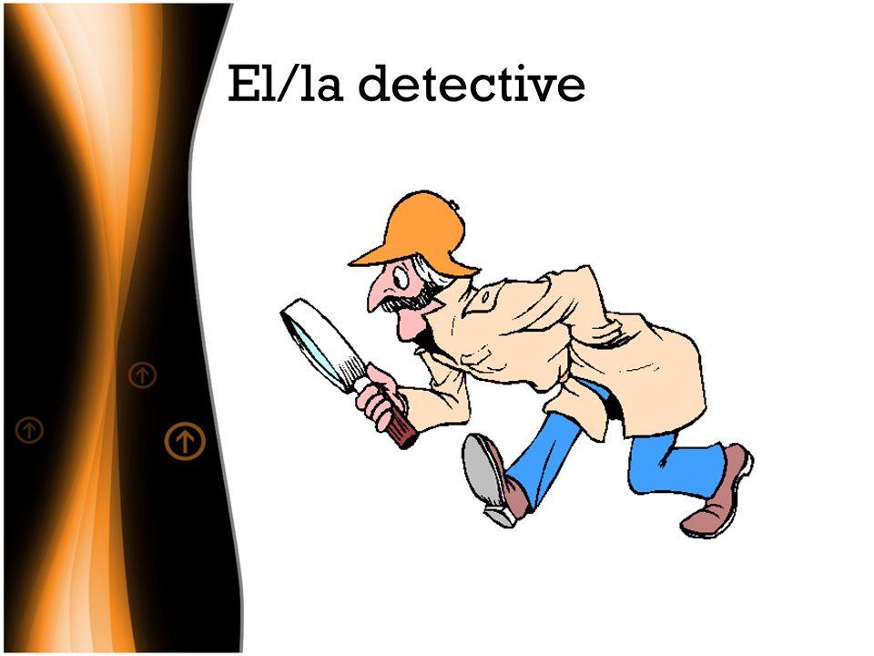 El/la detective