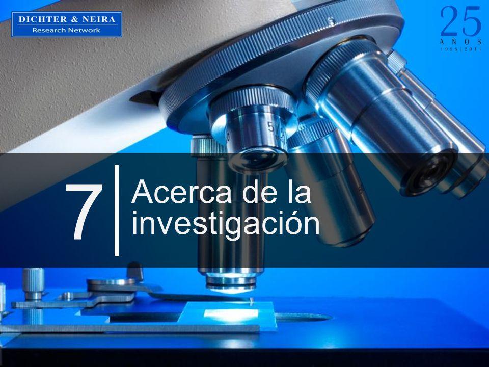 Acerca de la investigación 7