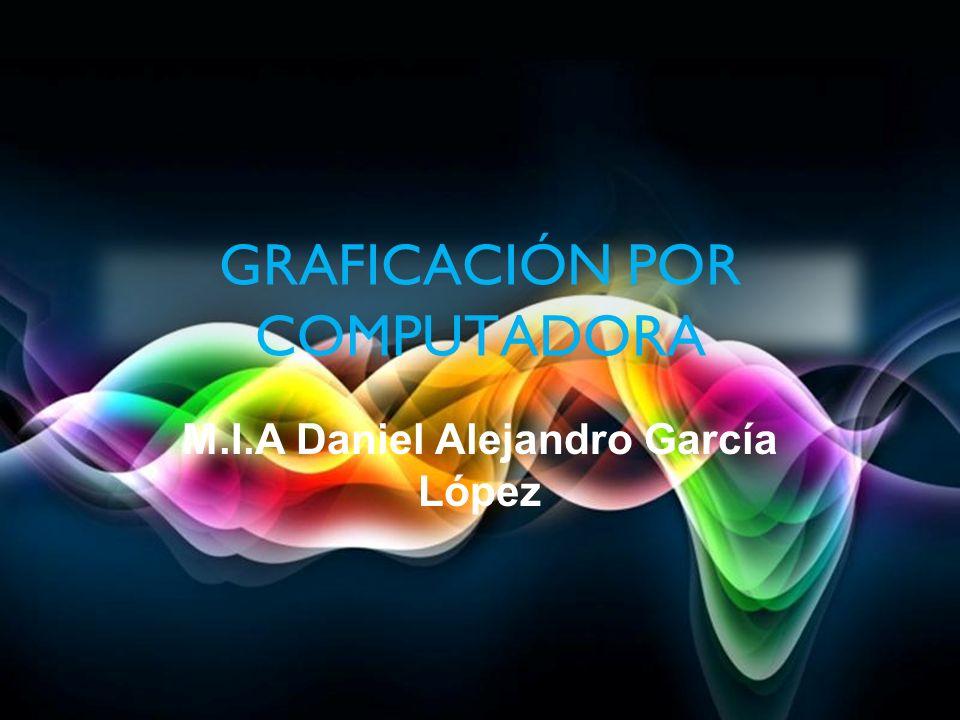 GRAFICACIÓN POR COMPUTADORA M.I.A Daniel Alejandro García López