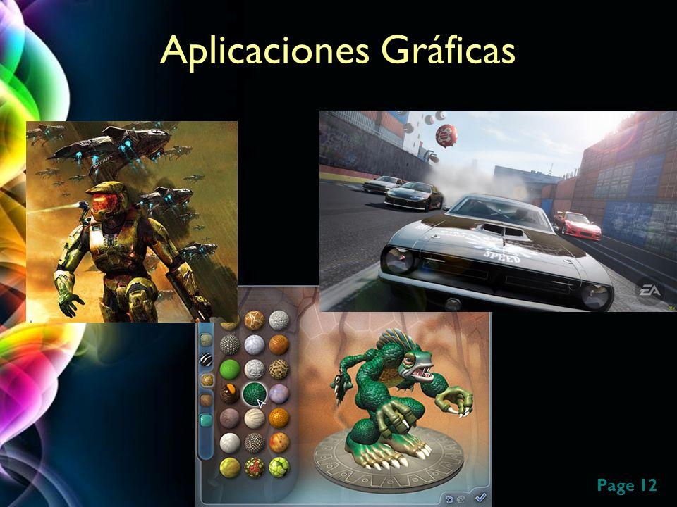 Page 12 Aplicaciones Gráficas Halo