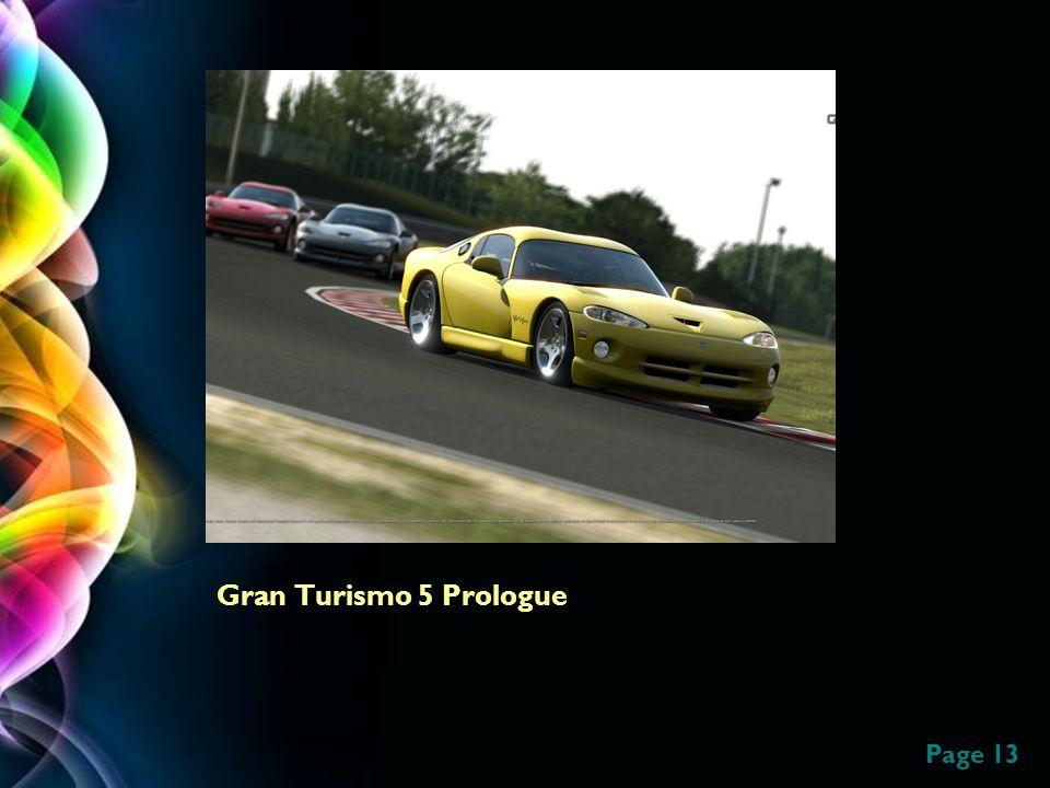 Page 13 Gran Turismo 5 Prologue