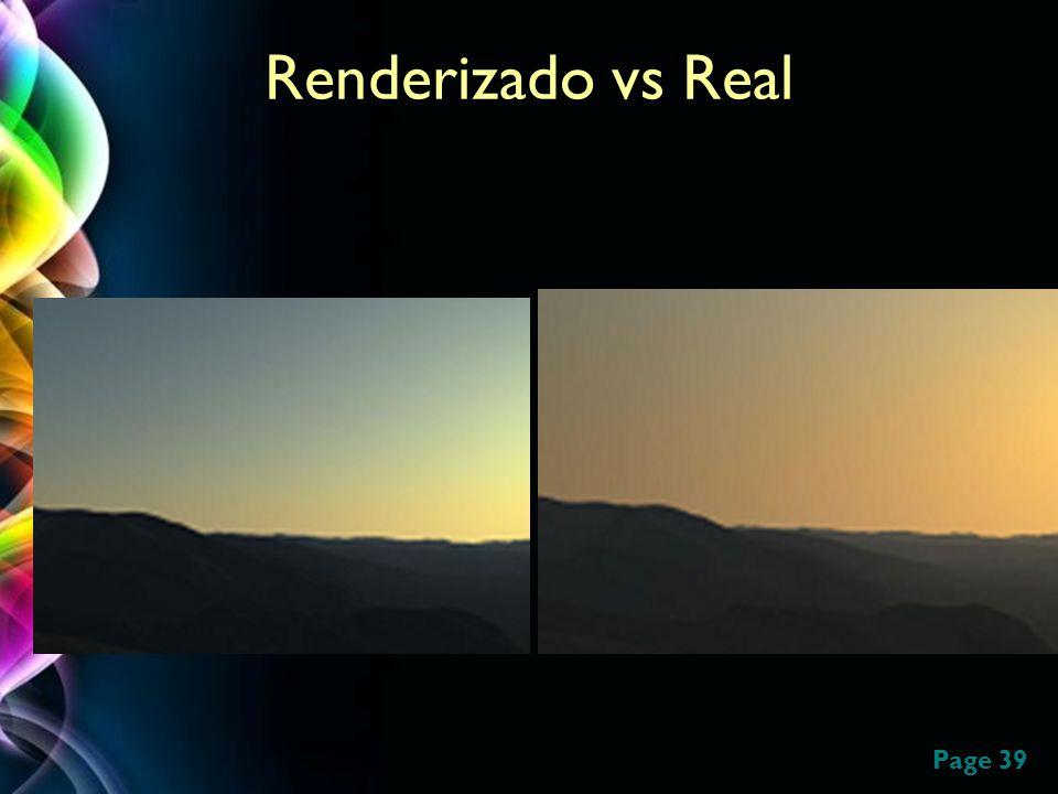 Page 39 Renderizado vs Real