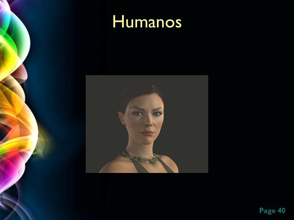 Page 40 Humanos