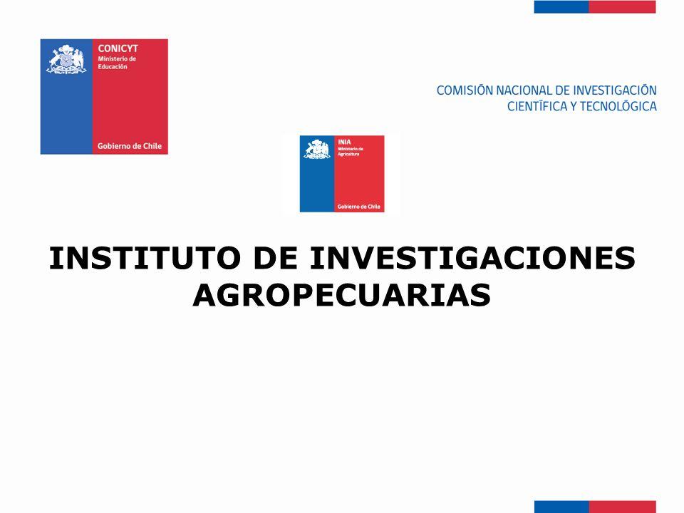 INSTITUTO DE INVESTIGACIONES AGROPECUARIAS