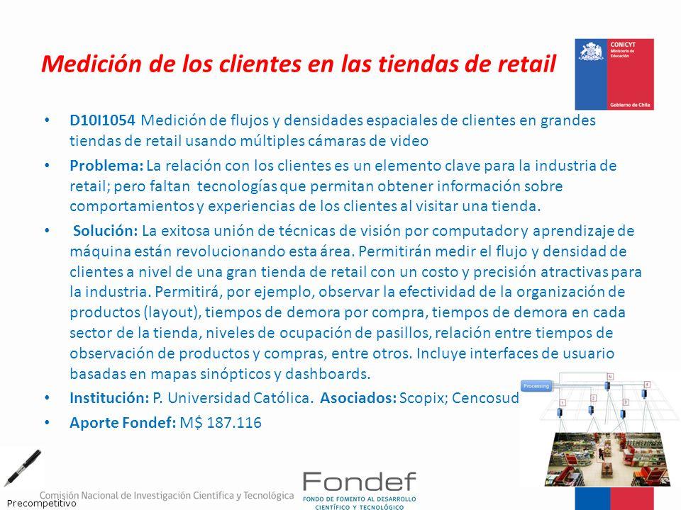 Medición de los clientes en las tiendas de retail D10I1054 Medición de flujos y densidades espaciales de clientes en grandes tiendas de retail usando