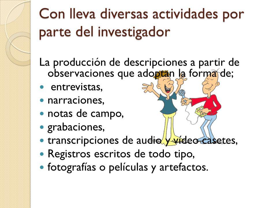 Los problemas a investigar son definidos, analizados y resueltos por los propios afectados.