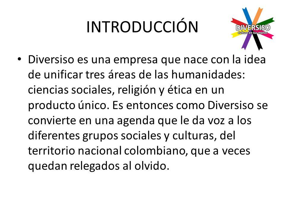 ÁREA DE INVESTIGACIÓN Para la producción de la agenda es necesario hacer una investigación de los diferentes grupos y culturas en el territorio nacional que van a tener un espacio dentro de la agenda.