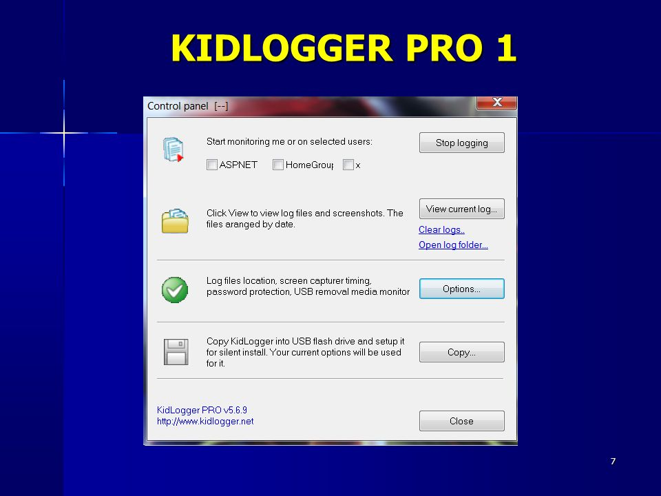 7 KIDLOGGER PRO 1
