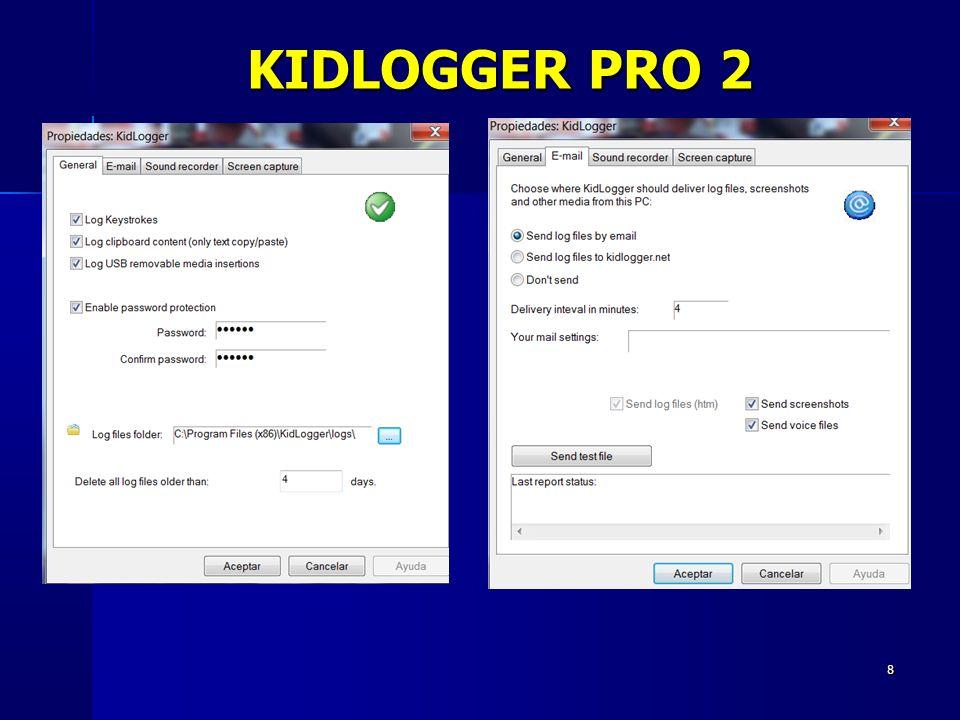 8 KIDLOGGER PRO 2