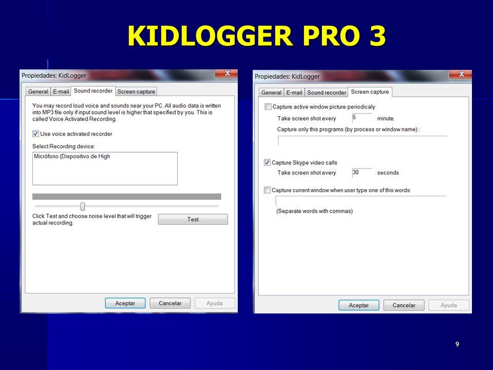 9 KIDLOGGER PRO 3