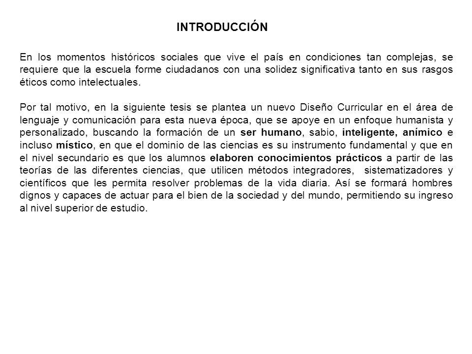 PLANIFICACIÓN CURRICULAR DEL ÁREA DE LENGUAJE Y COMUNICACIÓN DEL CUARTO GRADO DE SECUNDARIA GRADO:4º MedioDocente: Araceli Santos DISCIPLINA:Lenguaje y comunicación PROBLEMA:Textos literarios contemporáneos.