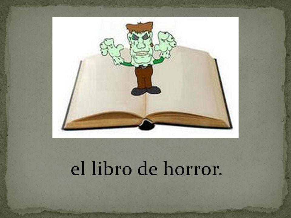 el libro de horror.