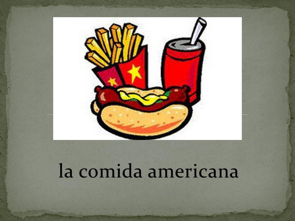 la comida americana
