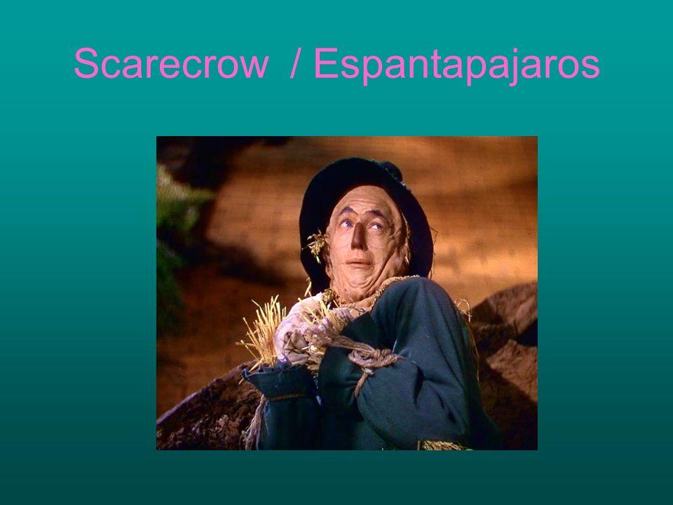 Scarecrow / Espantapajaros