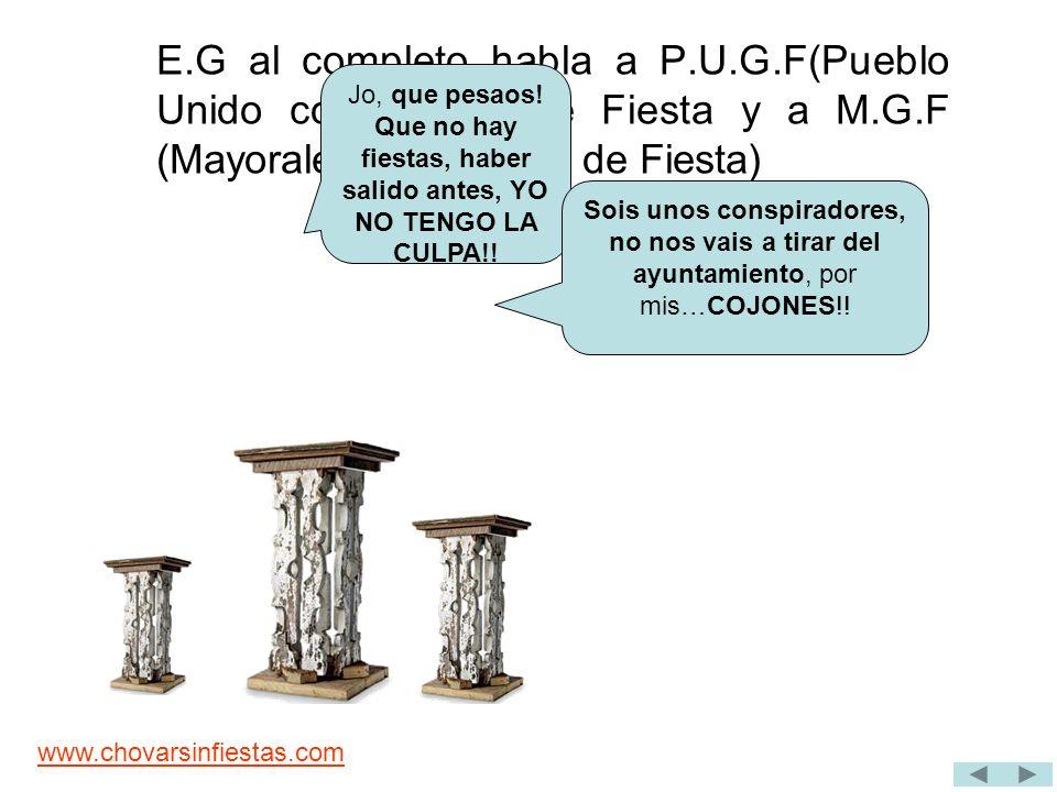 www.chovarsinfiestas.com P.U (Pueblo Unido) se organiza y recoge firmas para hacer entrar en razón a TE y rebocar la decisión de no tramitar los papeles de las fiestas..