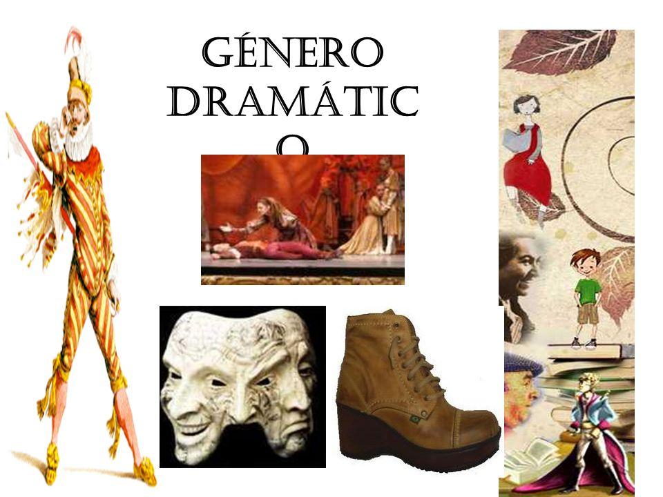 Subgéneros dramáticos Géneros extensos Géneros breves Géneros musicales Tragedia Comedia Drama Entremés Sainete Ópera Zarzuela
