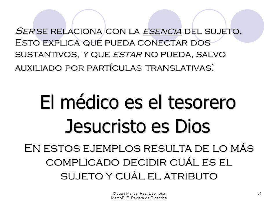 © Juan Manuel Real Espinosa MarcoELE. Revista de Didáctica 33 Todo lo que hemos hecho ha sido incluir a Mariló en diversos grupos humanos, identificar