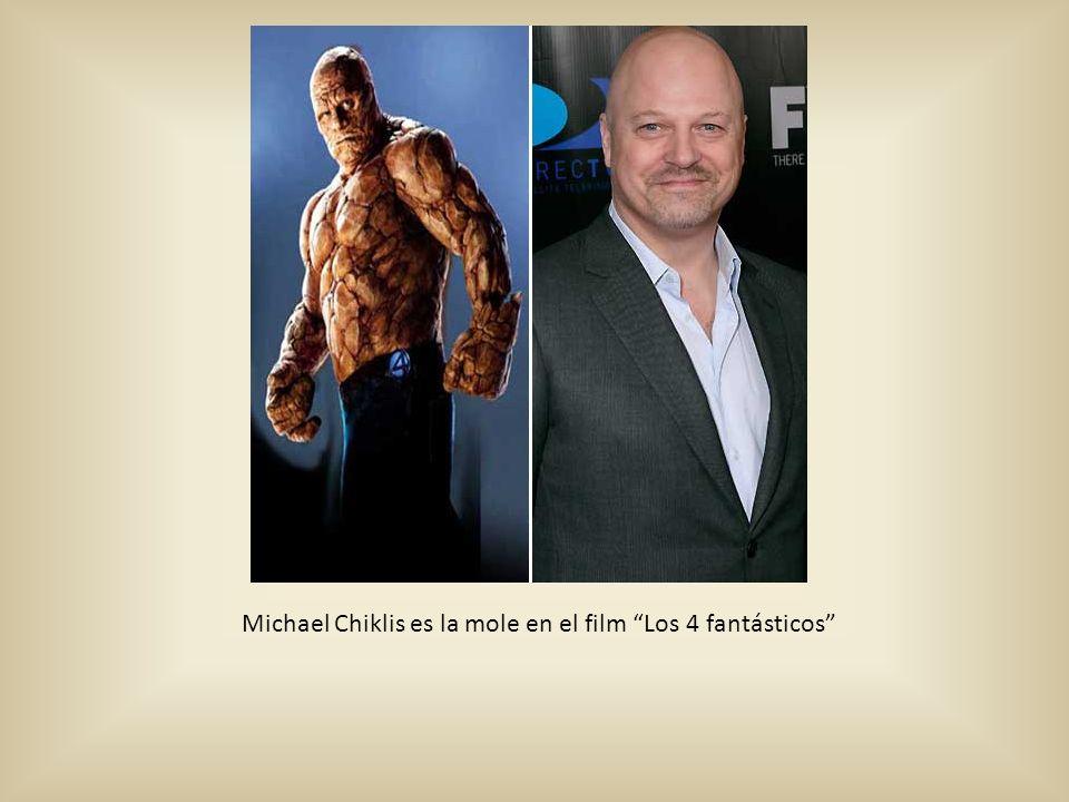 Michael Chiklis es la mole en el film Los 4 fantásticos