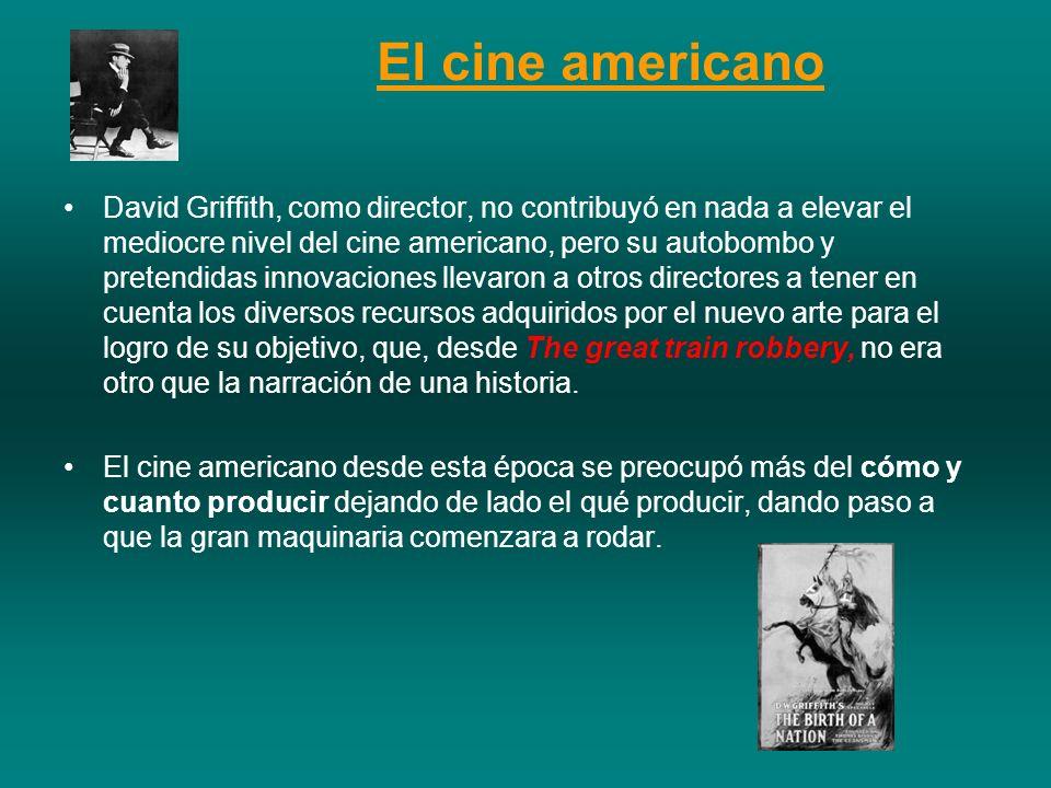 David Griffith, como director, no contribuyó en nada a elevar el mediocre nivel del cine americano, pero su autobombo y pretendidas innovaciones lleva