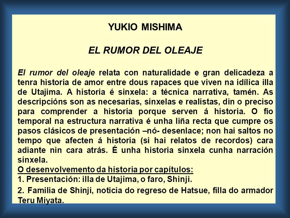 3.Asociación de Jóvenes: 2ª noticia de Hatsue. Rivalidades.