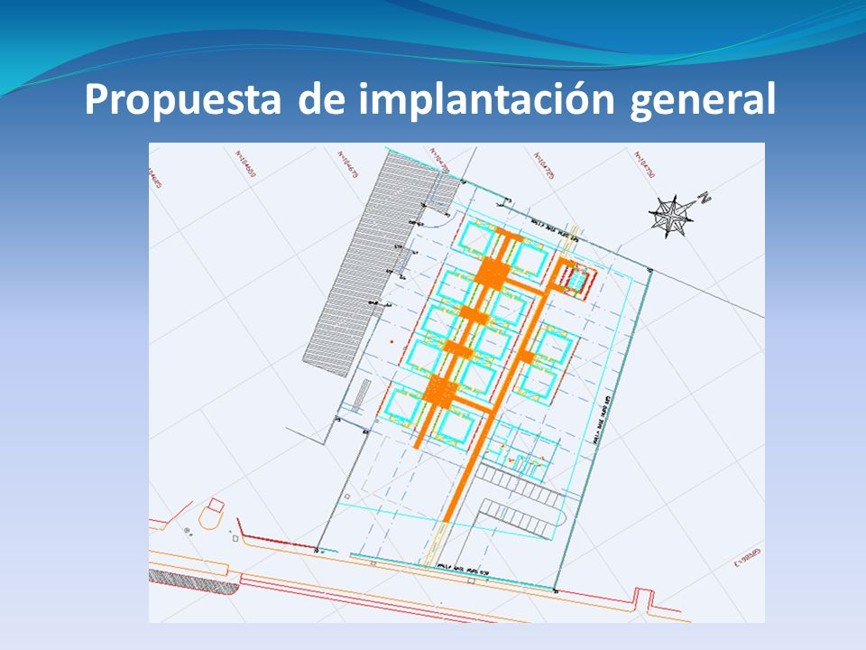 Propuesta de implantación general