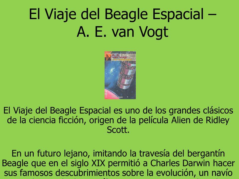 El Viaje del Beagle Espacial – A.E.