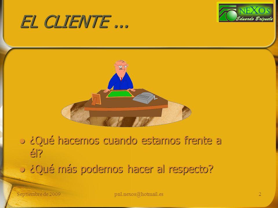 Septiembre de 2009pnl.nexos@hotmail.es3 Calibrando...