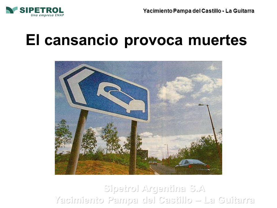 Yacimiento Pampa del Castillo - La Guitarra Sipetrol Argentina S.A Yacimiento Pampa del Castillo – La Guitarra El cansancio provoca muertes