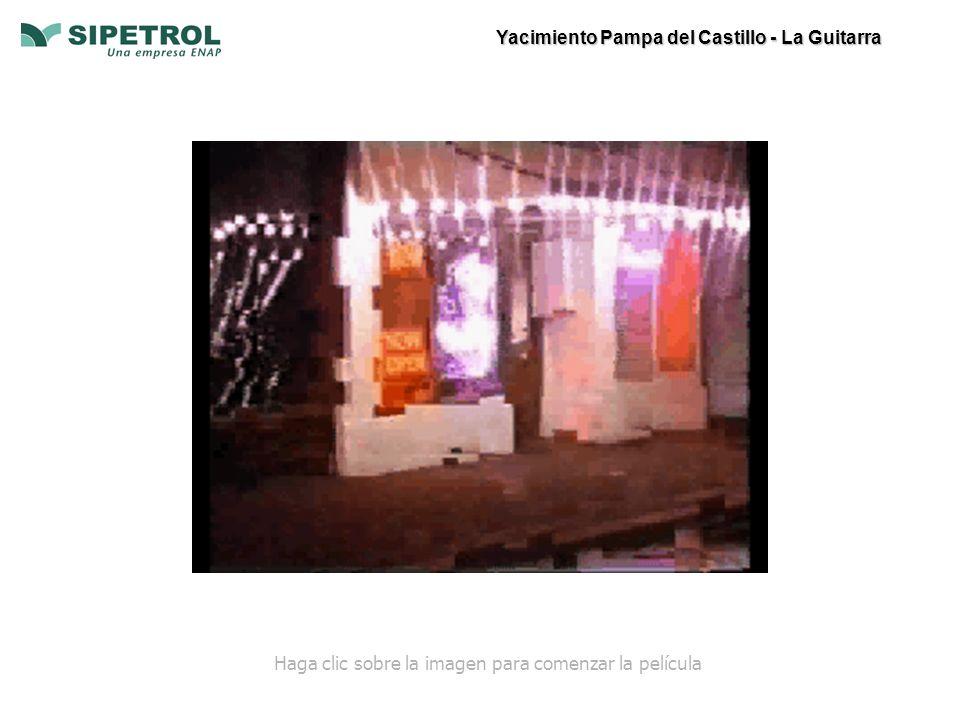 Yacimiento Pampa del Castillo - La Guitarra Haga clic sobre la imagen para comenzar la película