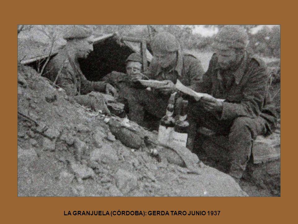 LA GRANJUELA (CÓRDOBA): GERDA TARO JUNIO 1937