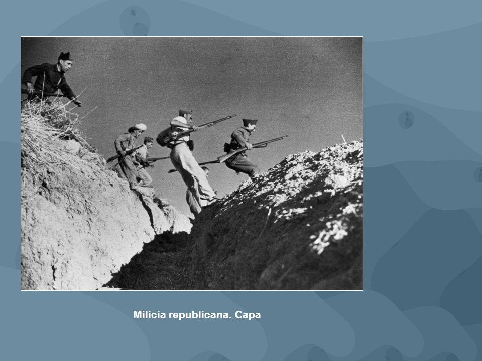 Milicia republicana. Capa