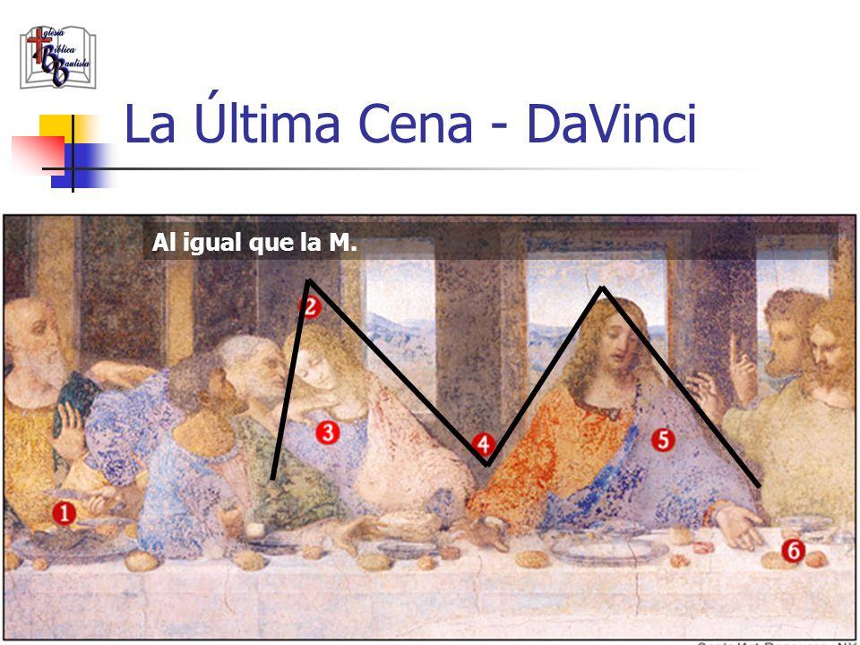 www.iglesiabiblicabautista.org 99 La Última Cena - DaVinci ¡La V es un invento fantasioso!