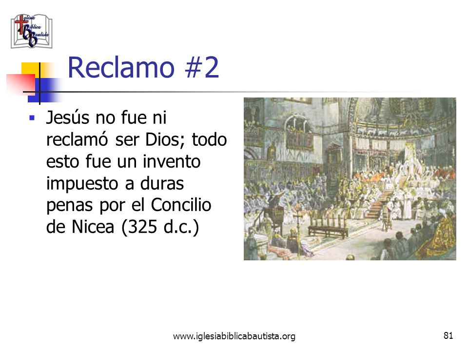www.iglesiabiblicabautista.org 80 Refutación #1 Como hemos visto ya, los escritos apócrifos (evangelios o no) fueron tradicionalmente rechazados por l