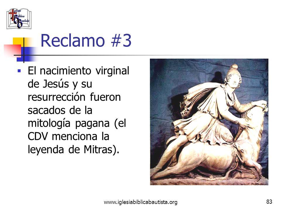 www.iglesiabiblicabautista.org 82 Refutación #2 La deidad de Jesús no sólo se menciona en los cuatro Evangelios, sino también en los escritos de los l