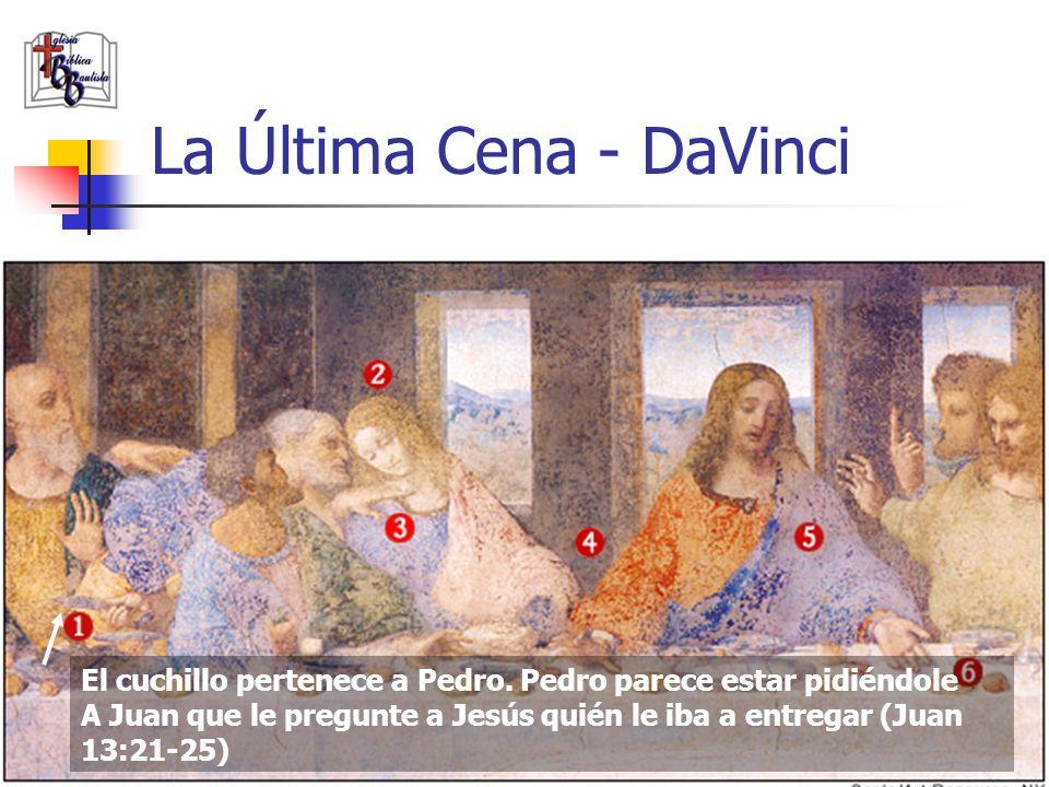 www.iglesiabiblicabautista.org 93 Refutación #5 En cuanto a las pistas escondidas en el la Última Cena de DaVinci, veamos a continuación.
