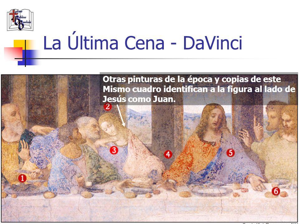 www.iglesiabiblicabautista.org 94 La Última Cena - DaVinci El cuchillo pertenece a Pedro. Pedro parece estar pidiéndole A Juan que le pregunte a Jesús