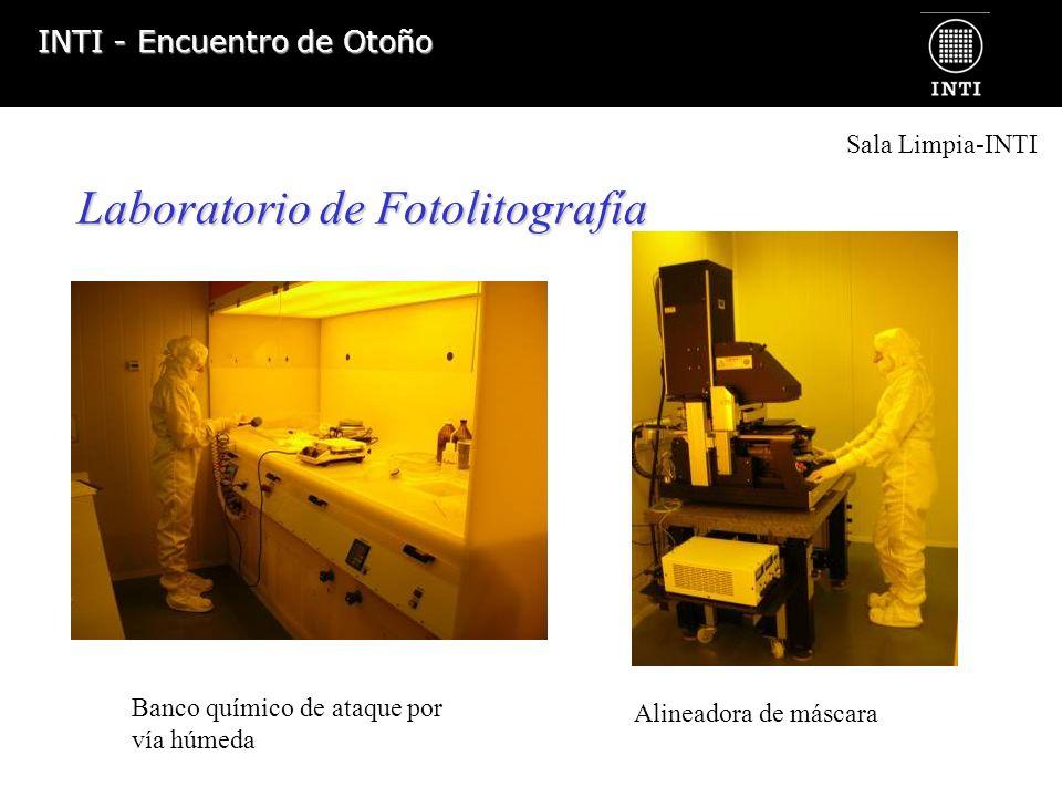 INTI - Encuentro de Otoño Laboratorio de Deposición de Películas Delgadas y Gruesas Deposición por Sputtering Deposición por serigrafía Sala Limpia-INTI
