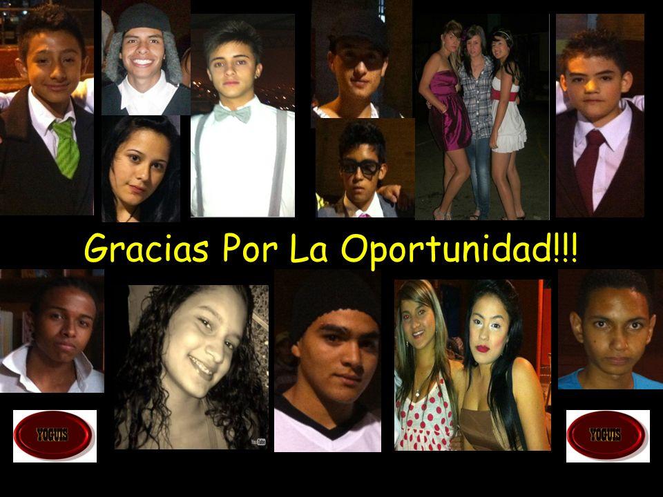 Gracias Por La Oportunidad!!!