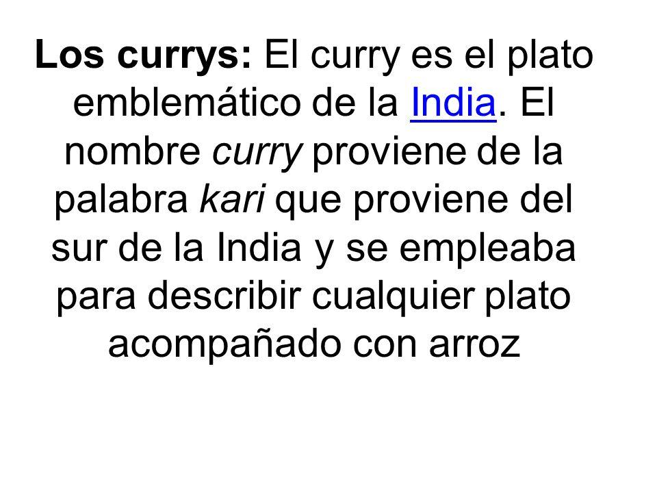 La comida de la India es de sabores intensos, en muchos casos picante.. En la cocina de la India se utiliza muchas especies como comino India
